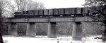 Northbound NYC freight Great Miami River Bridge @ Middletown, Ohio ca Oct or Nov 1967