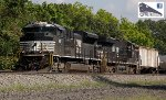 NS 1165 leads oil train on PITL