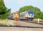 BNSF 6615 & Northstar 501
