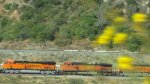 BNSF 7044 and 5163
