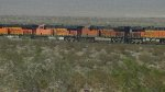 BNSF 6762 and 7618