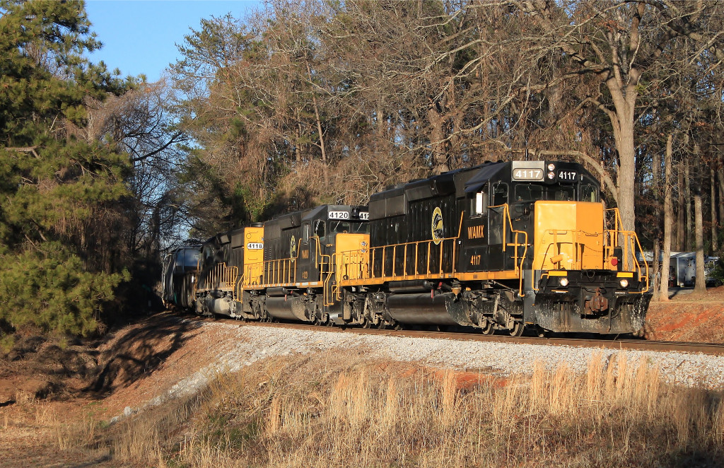 WAMX 4117 Again......at Peterson, AL at Peterson, AL at Peterson, AL