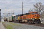 BNSF 6749 On CSX Q 243 Southbound