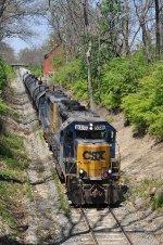 CSXT 6039 On CSX J 785 Eastbound