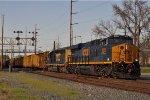 CSXT 3055 On CSX Q 507 Southbound