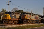 CSXT 609 Got KCS 4608 By A Neck ( Highball )