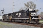 NS 6684 On NS 175 Southbound