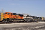 BNSF 8753 On NS 124 Westbound