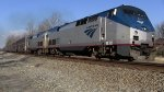 Amtrak P052 makes a daylight appearance with consecutively-numbered P40s
