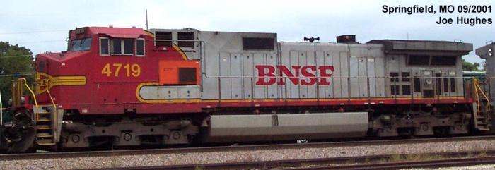 BNSF 4719