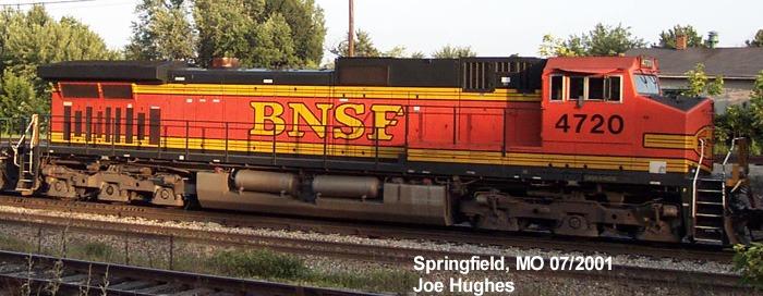 BNSF 4720