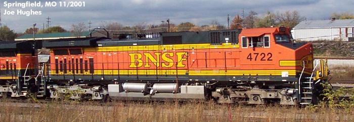BNSF 4722
