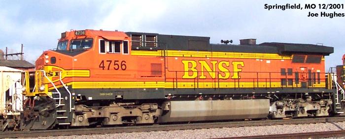 BNSF 4756