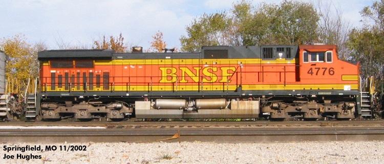 BNSF 4776
