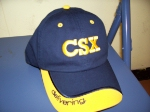 A Hat I Won @ the CSX Family Rail Day
