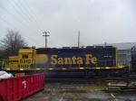 BNSF/Santa Fe SD40u