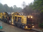 Loram Work Train