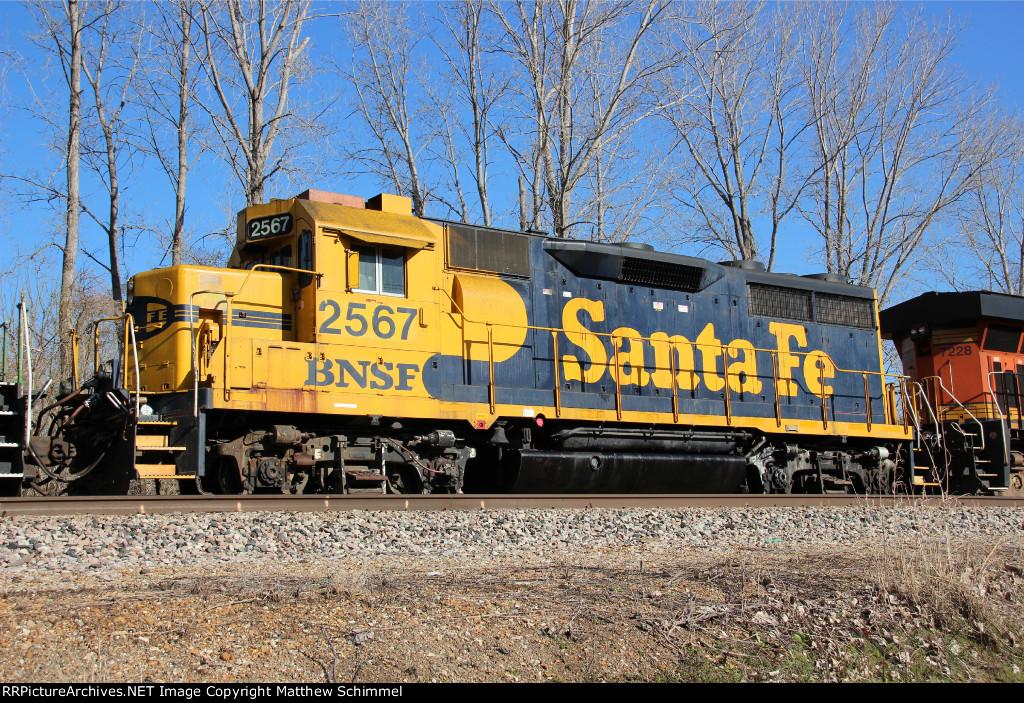 BNSF 2567