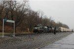 NS C40-9W #9402 on Eastbound Intermodal