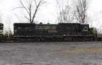NS C40-8 #8743 on Westbound Intermodal