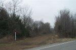 Ex-RI ROW, looking west at MO Hwy 87