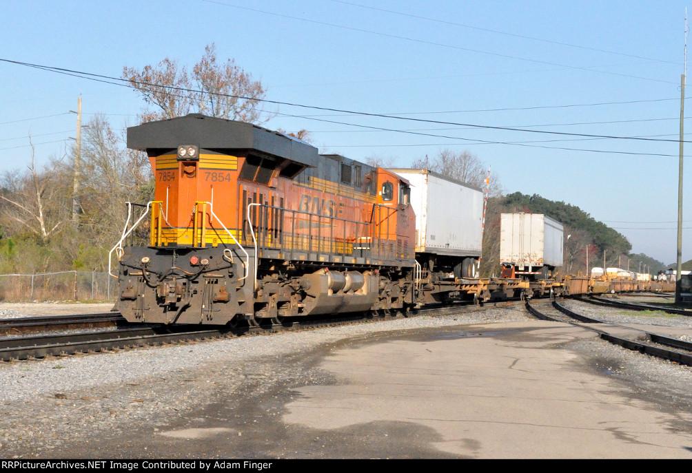 BNSF 7854