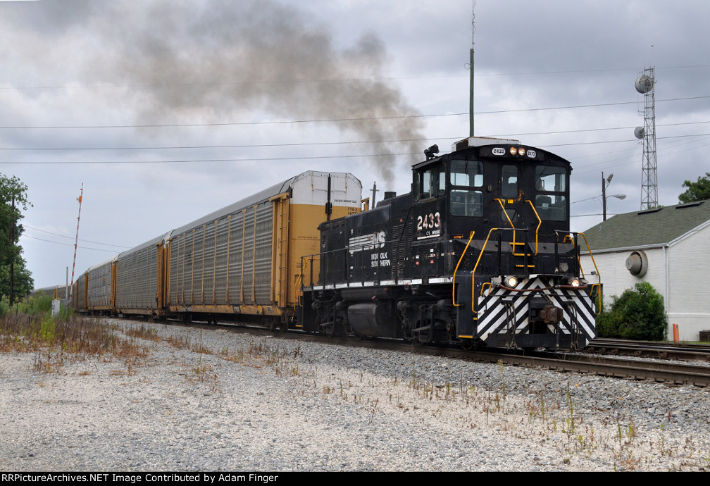 NS 2433 on NS Job 60
