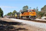 BNSF 7822 on CSX Q155