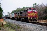 BNSF 677 on NS 229