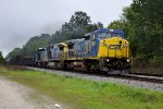 CSX 7340 with markers on