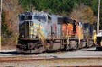 TFM 1658 on NS Simpson Yard Lake Track