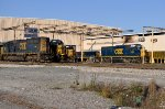 CSX 2422 and other EMDs