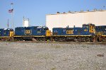 CSX 1183 and other EMDs