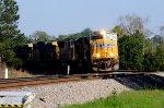 UP 4593 on CSX Q689