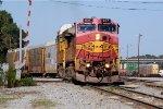 BNSF 637 on NS 291