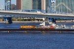UP 7778 on NS 291 on FEC Jax Bridge