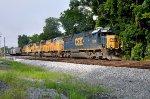 CSX 8701 on CSX Grain Train