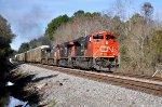 CN 8807 on NS 285