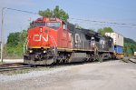 CN 2196 on NS 229 with his one car for FEC Bowden