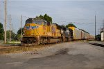 UP 3966 on NS 285