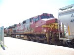 ATSF C44-9W 611