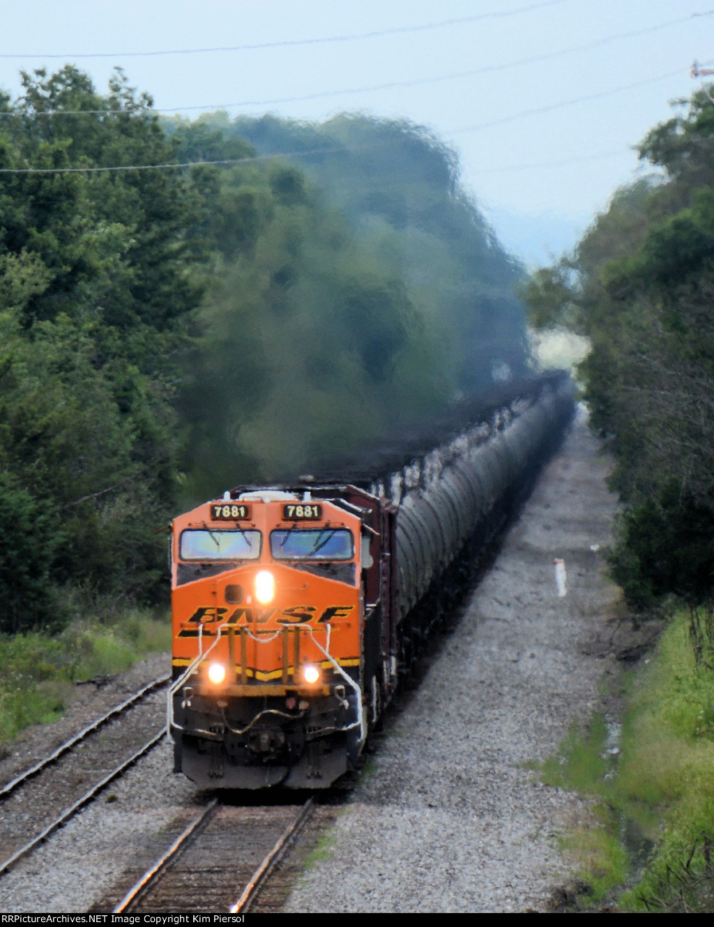 BNSF 7881 CSX Train K048 Crude Oil Loads