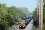 UP 6575 CSX Train K036 Crude Oil Loads