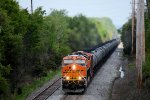 BNSF 8093 CSX Train K044 Crude Oil Loads