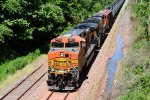 BNSF 4865 CSX Train K040 Crude Oil Loads