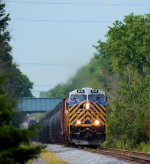 "CREX ""CITIRAIL"" 1214 CSX Train K041-21 Crude Oil Empties"