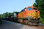 BNSF 4887 9444 CSX Train K044 Crude Oil Loads