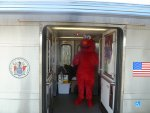 Elmo on board