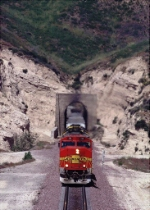 BNSF 111 - Cajon Tunnel #1