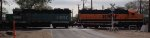 BNSF Locomotives Headed South